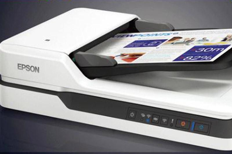 扫描仪,爱普生(EPSON)DS-1610 ADF+平板高速彩色文